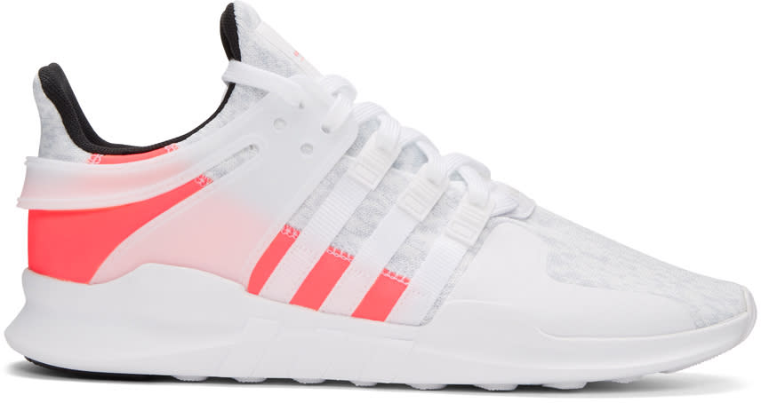 Adidas Originals White Equipment Support Adv Sneakers