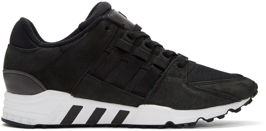 Adidas Originals Black Equipment Support Rf Sneakers