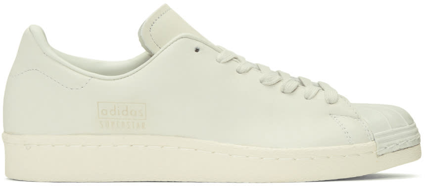 Adidas Originals Ivory Superstar 80s Clean Sneakers