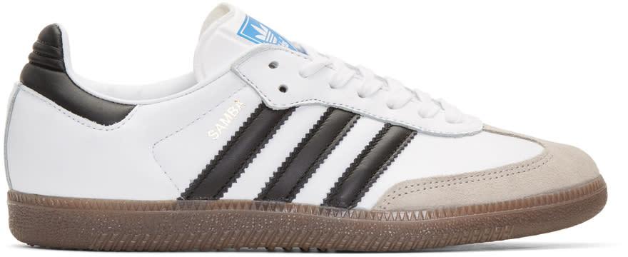 Adidas Originals ホワイト サンバ Og スニーカー