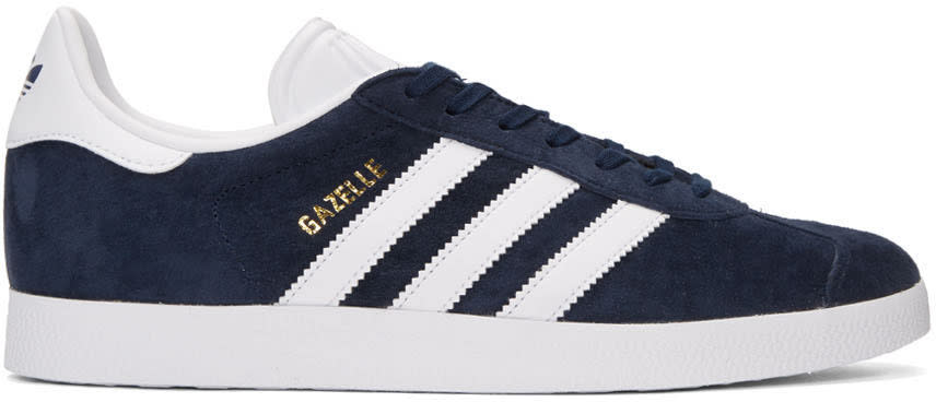 Adidas Originals Navy Gazelle Sneakers