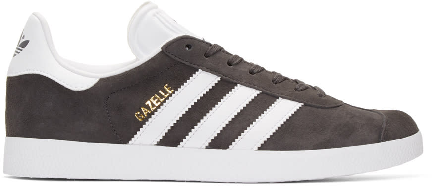 Adidas Originals Grey Gazelle Sneakers