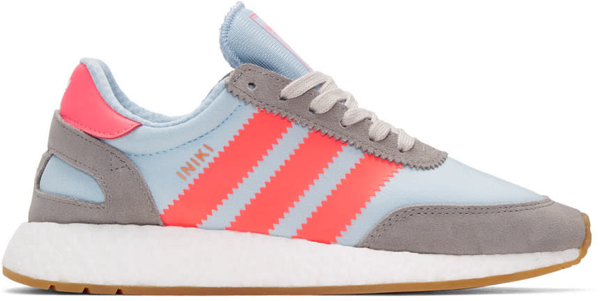 Adidas Originals Blue Iniki Sneakers