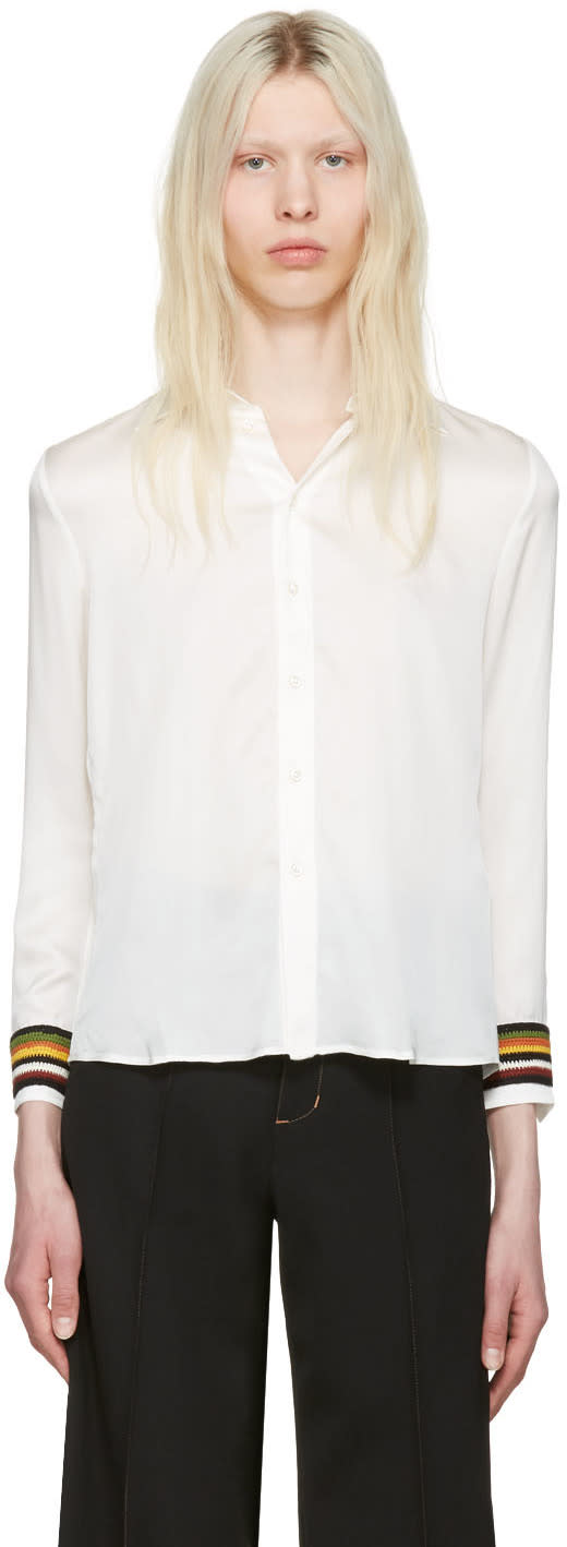 Wales Bonner Ivory Caribe Shirt