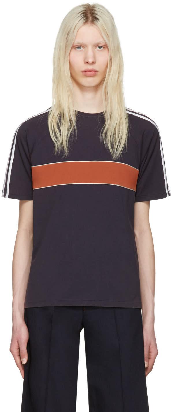 Wales Bonner Navy George T-shirt