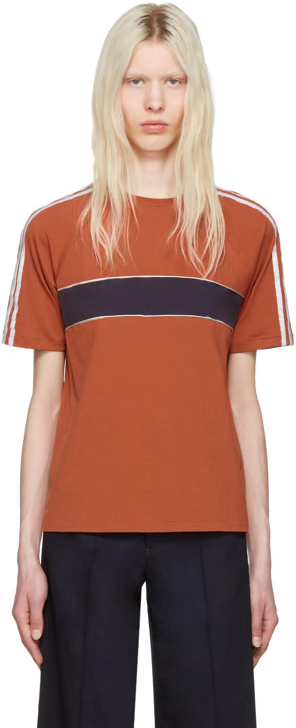 Wales Bonner Orange George T-shirt