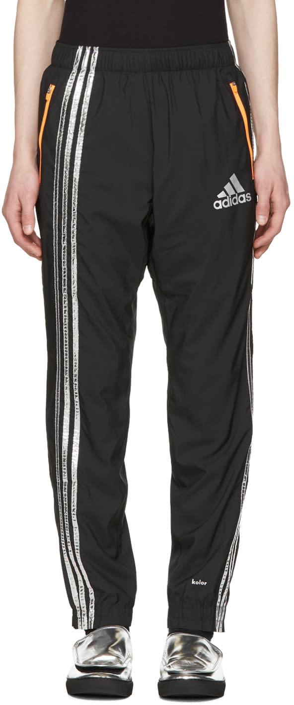 Adidas X Kolor ブラック トラック パンツ