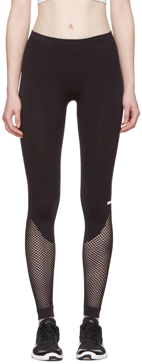 Adidas By Stella Mccartney Black The Sl Mesh Leggings