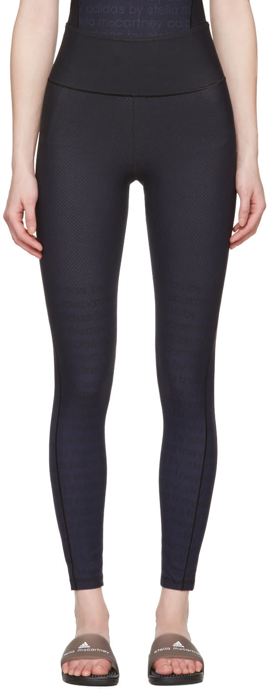 Image of Adidas By Stella Mccartney Black Miracle Leggings