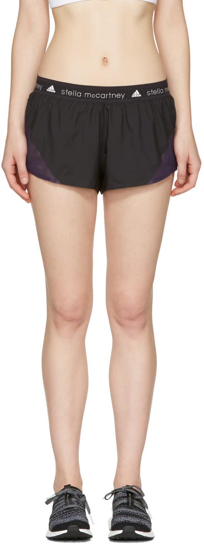 Adidas By Stella Mccartney Black Run Adizero Shorts