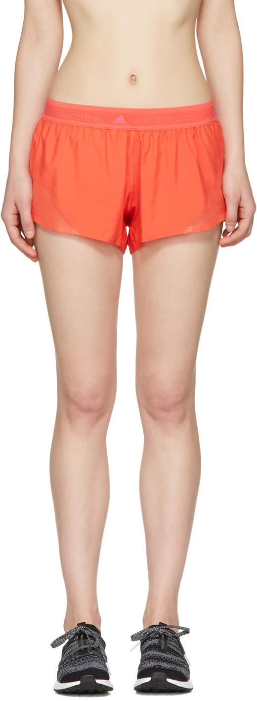 Adidas By Stella Mccartney Orange Run Adizero Shorts