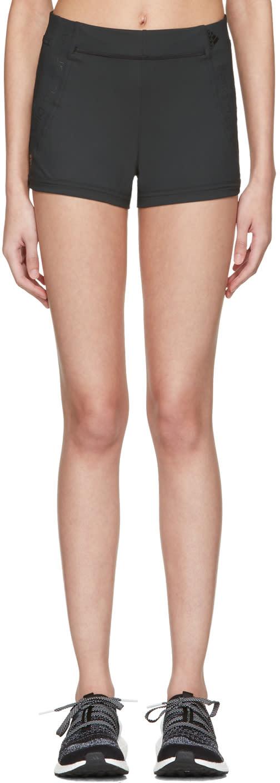 Adidas By Stella Mccartney Black Spandex Train Shorts