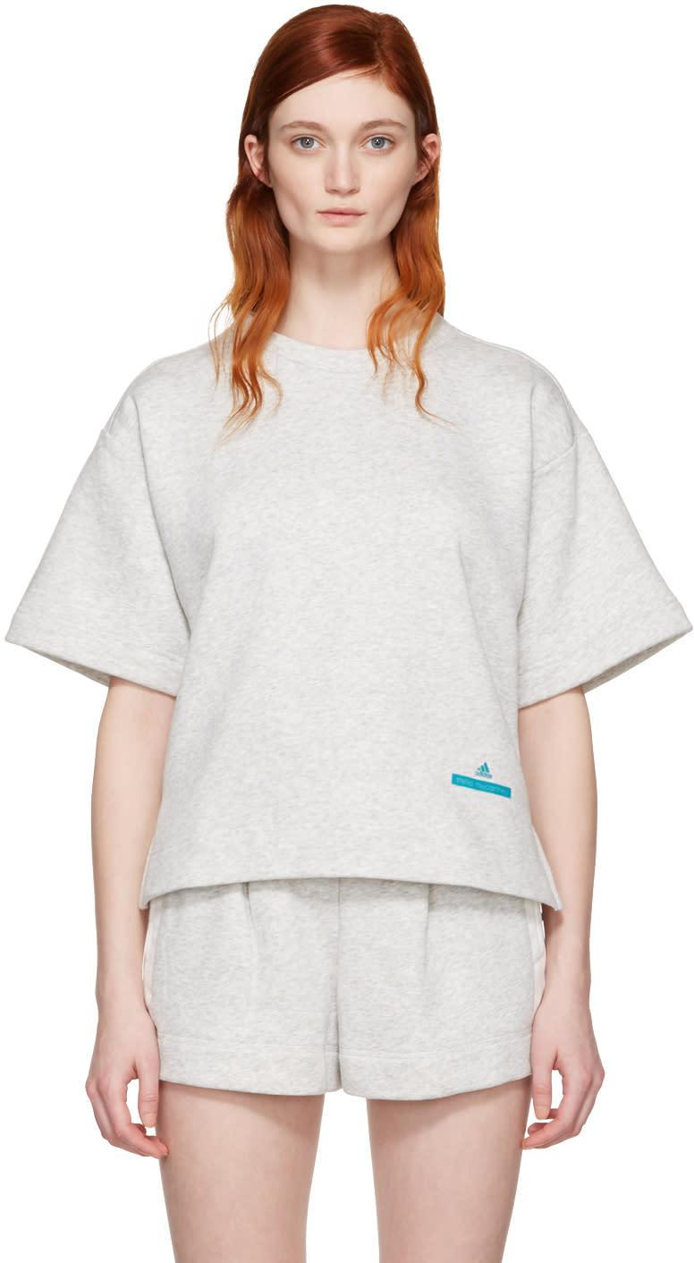 Adidas By Stella Mccartney Grey Yoga Pullover