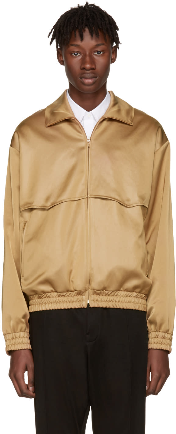 Cmmn Swdn Camel Rodeo Track Jacket