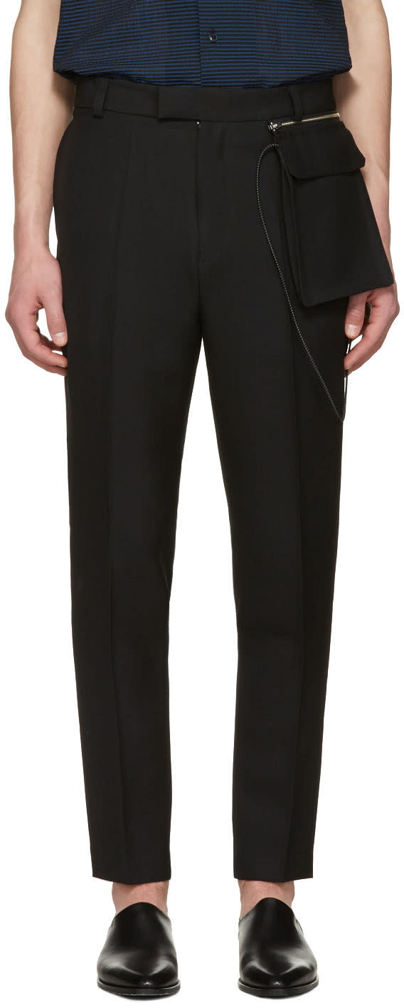 Cmmn Swdn Black Stetson Trousers