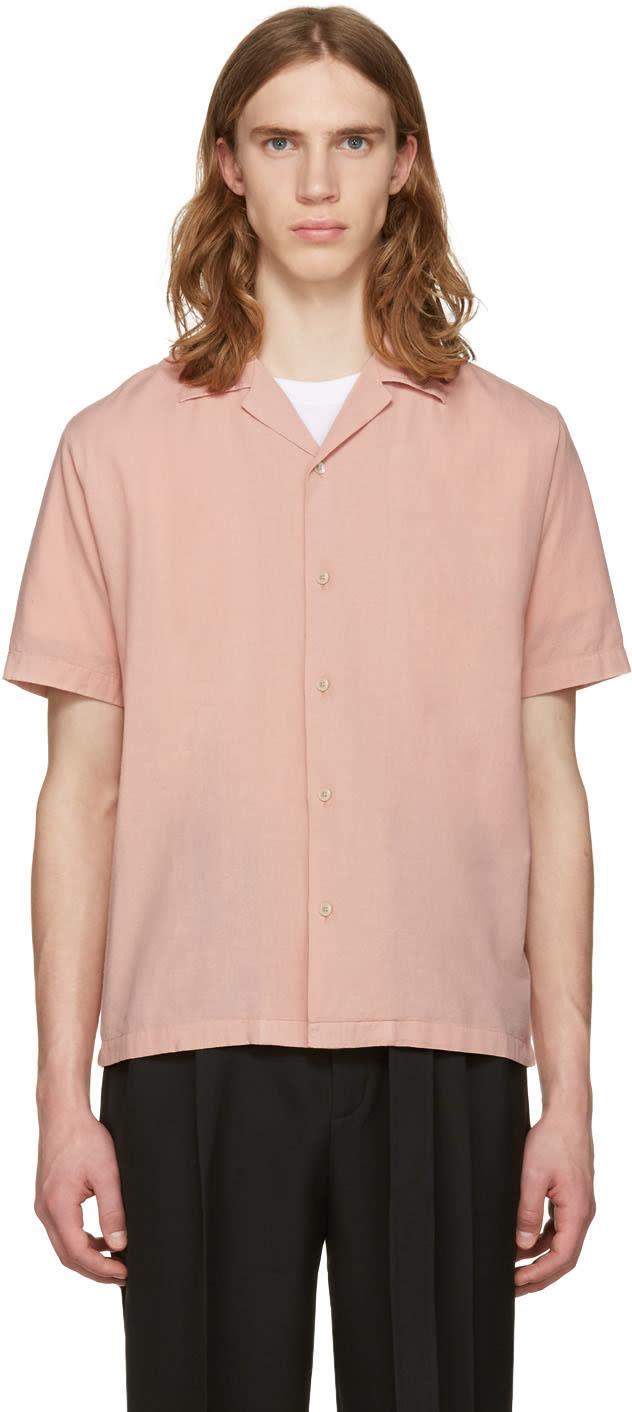 Cmmn Swdn Pink Boxy Shirt