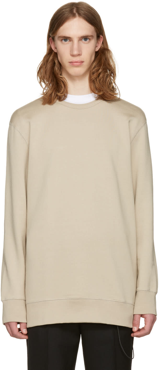Image of Cmmn Swdn Beige Oversized Artur Pullover