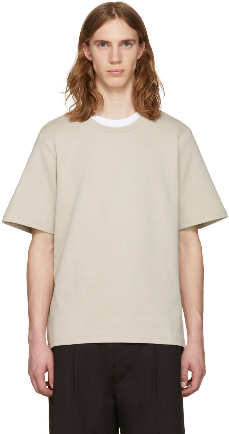 Cmmn Swdn Beige Miles T-shirt