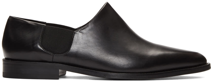Cmmn Swdn Black Butch Slip-on Boots