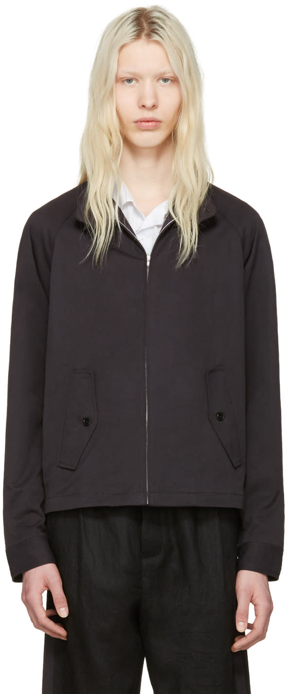 Fanmail Black Harrington Jacket