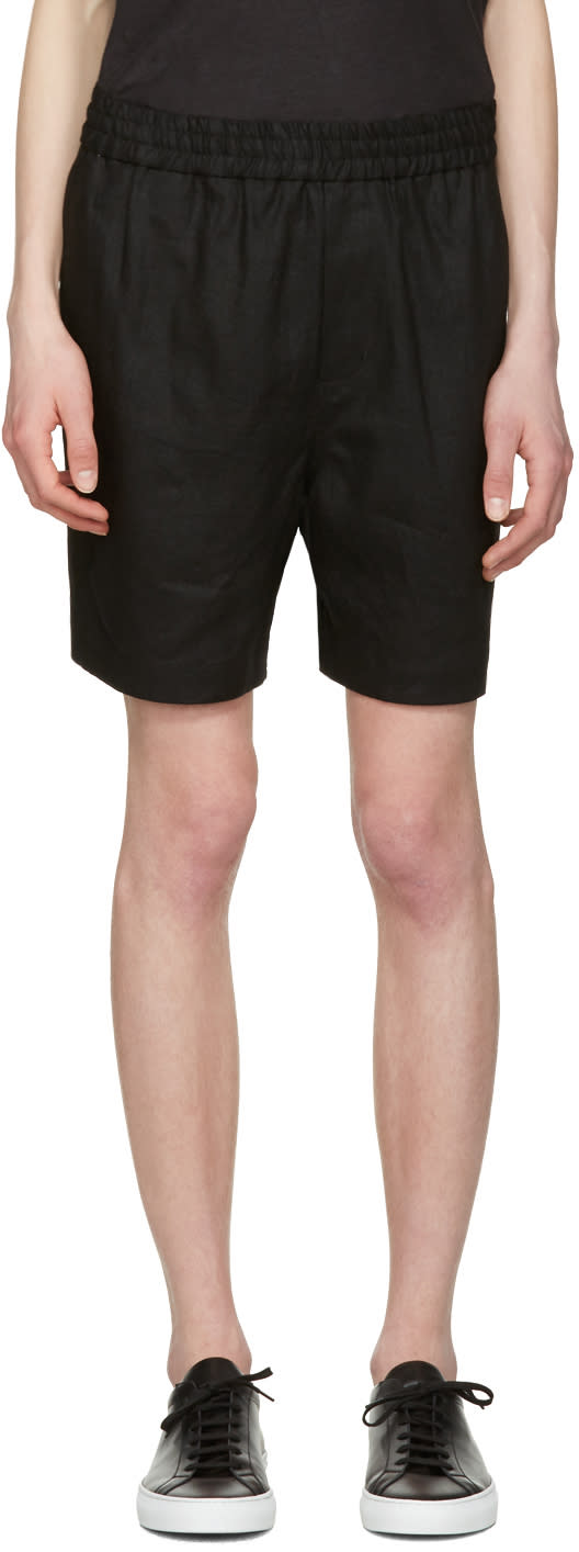 Image of Fanmail Black Sport Shorts