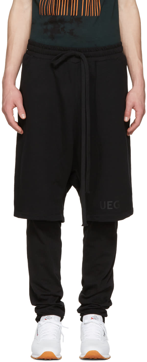 Ueg Black Legging Shorts