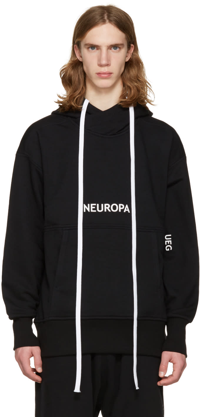 Ueg ブラック Neuropa フーディ