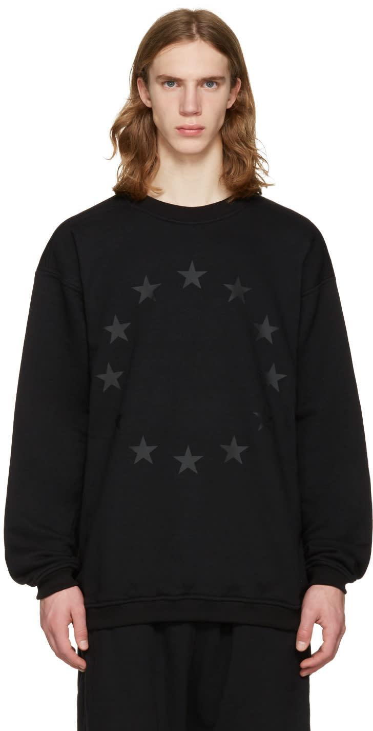 Ueg Black finis Europae Pullover