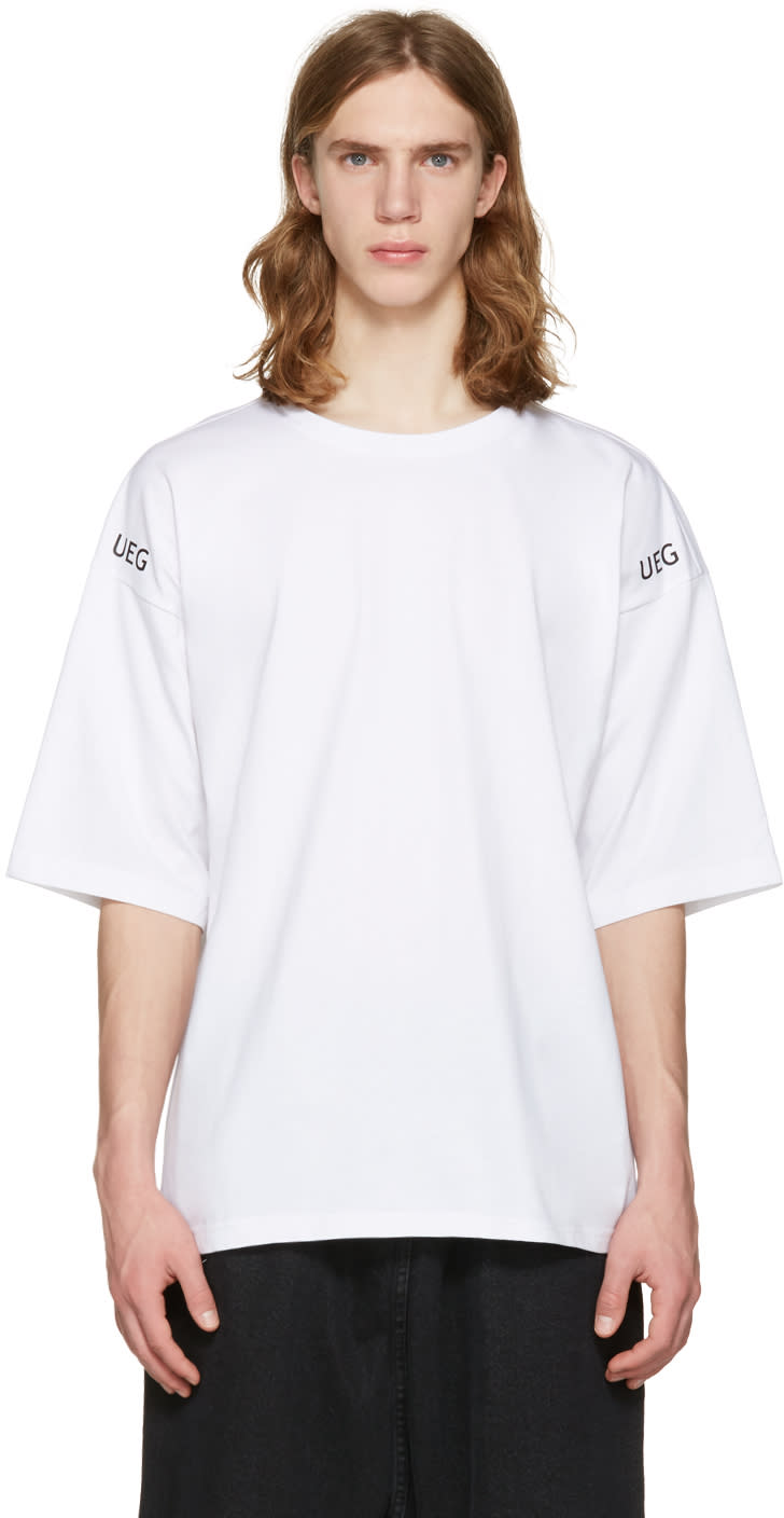 Ueg White Ueg T-shirt