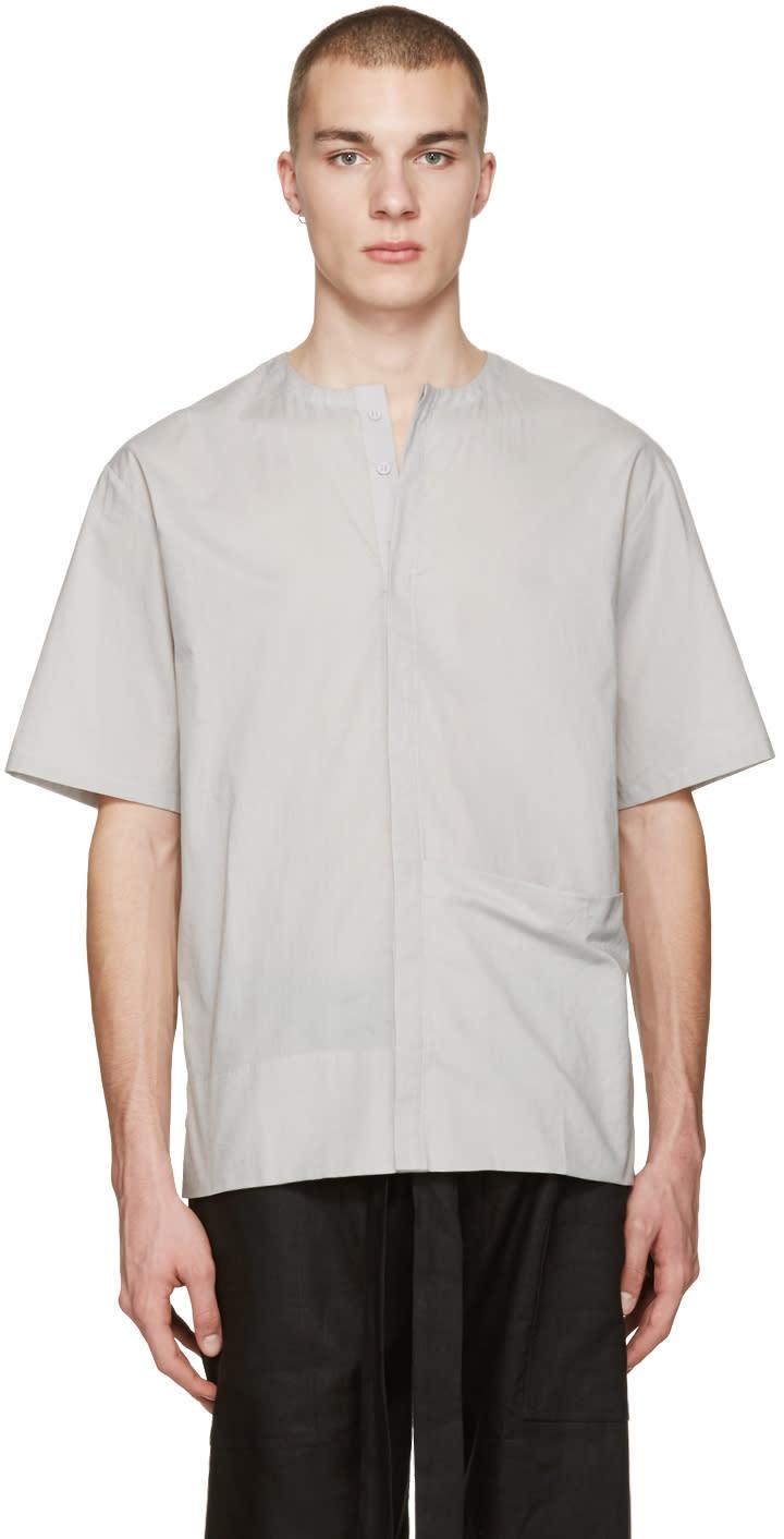 Phoebe English Grey Poplin Shirt