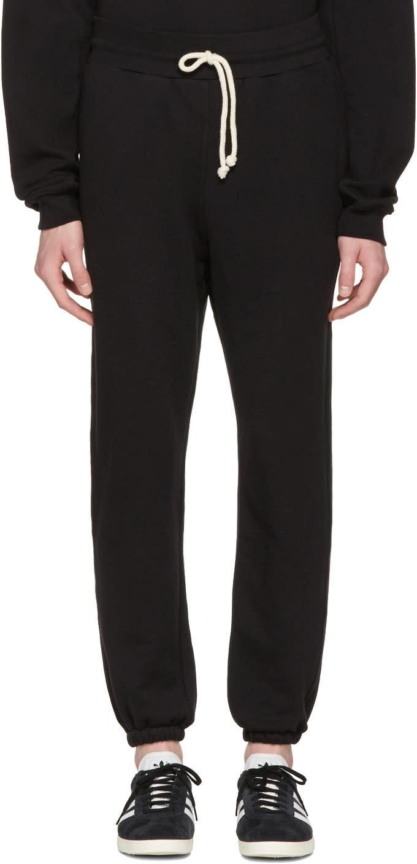 John Elliott Black Oversized Lounge Pants