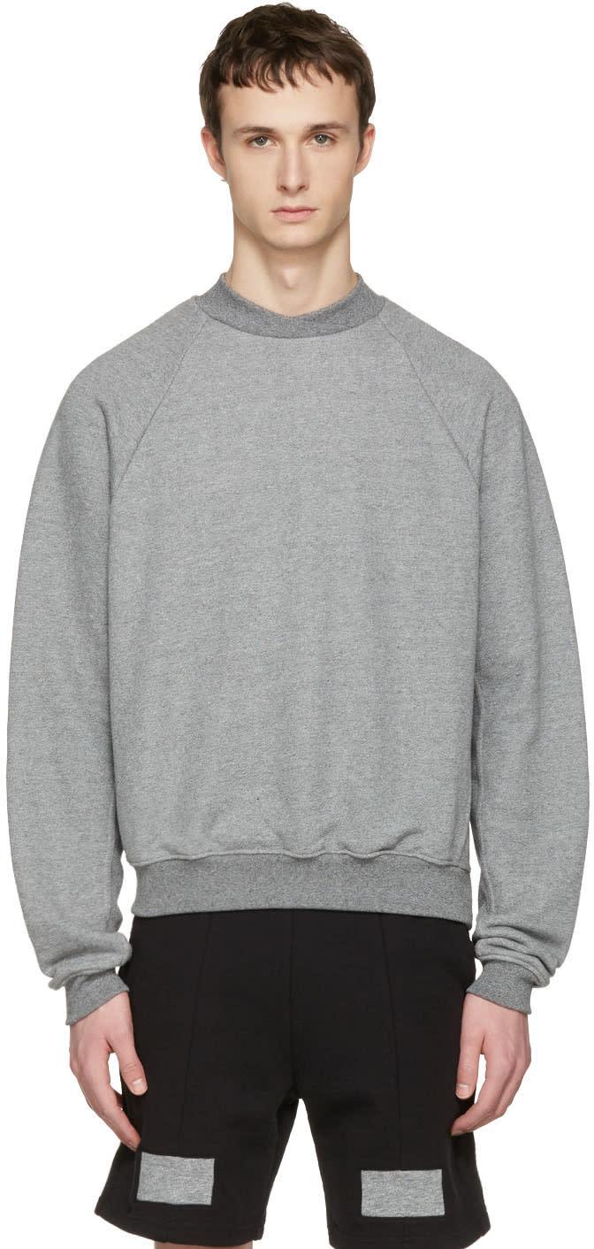 John Elliott Grey Hellweek Pullover