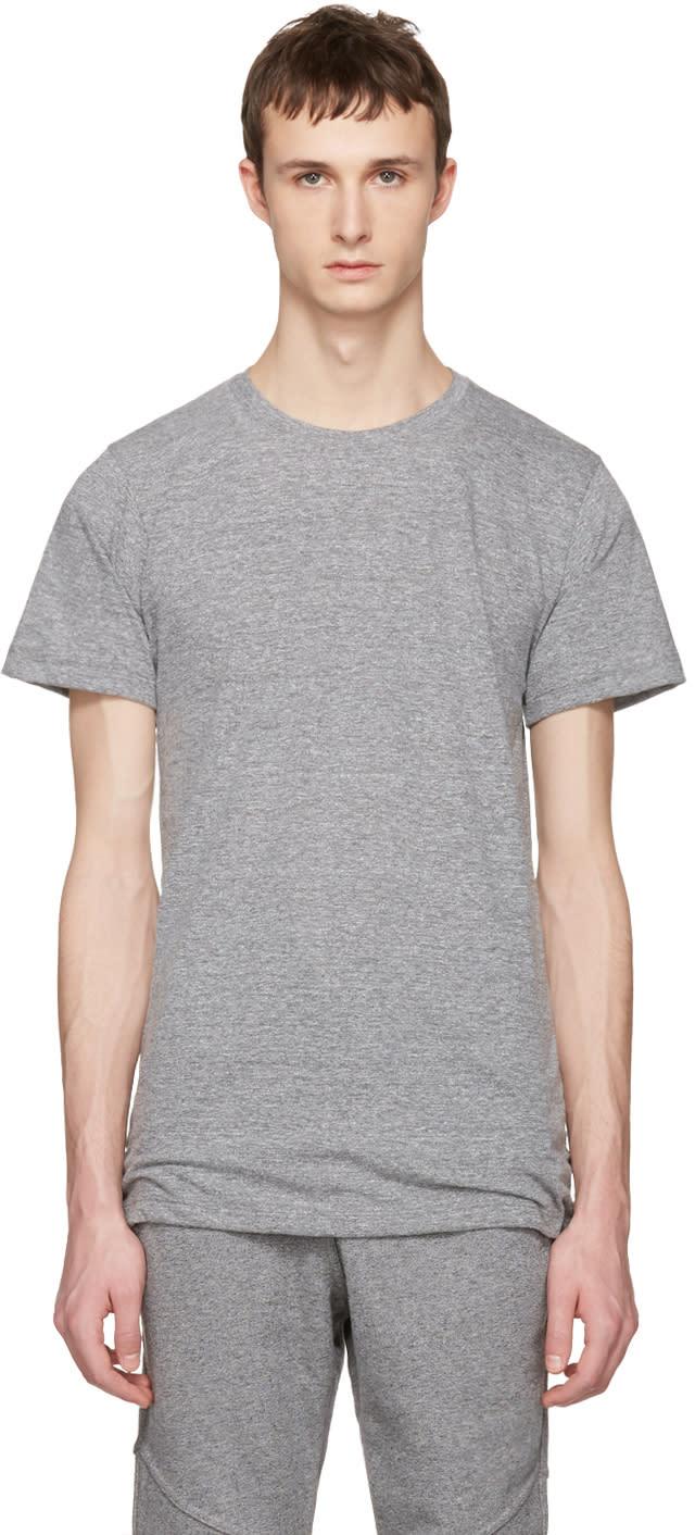 John Elliott Grey Crew T-shirt