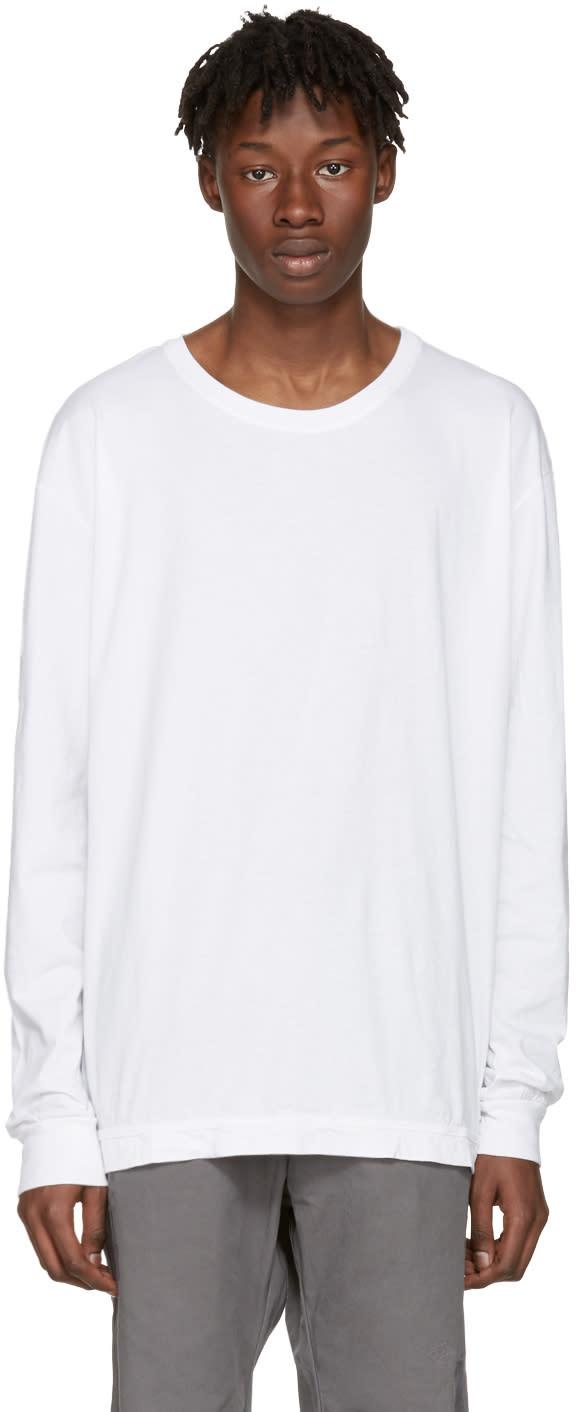 John Elliott White Classic Mercer T-shirt