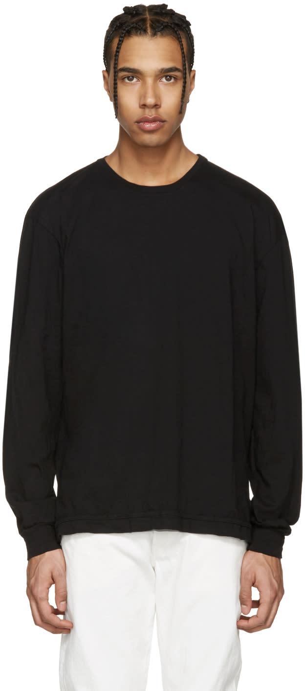 John Elliott Black Classic Mercer T-shirt
