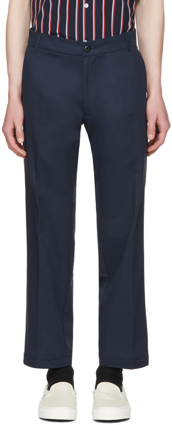 Noon Goons Navy Club Trousers