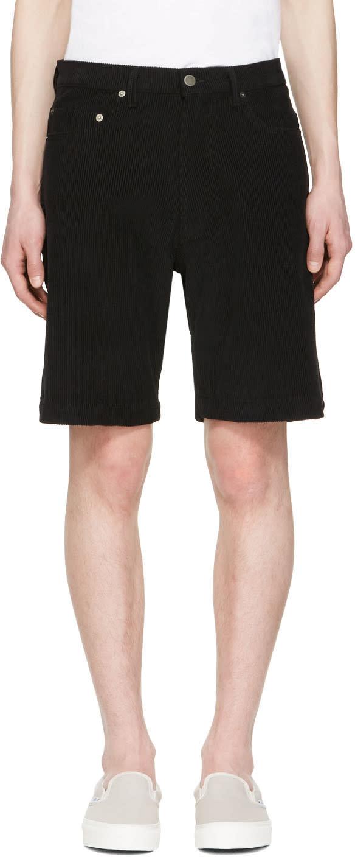 Image of Noon Goons Black Club Cord Shorts
