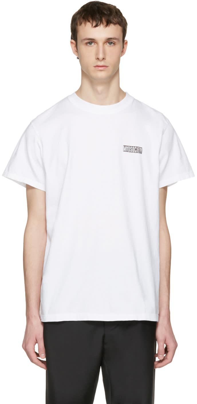 Noon Goons White mad Society T-shirt