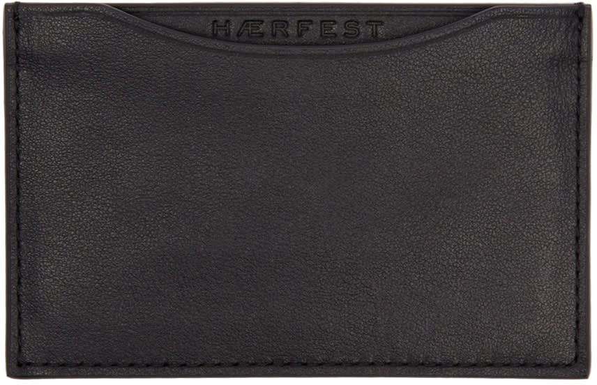 Haerfest Black H39 Card Holder