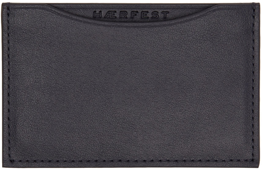 Haerfest Navy H39 Card Holder