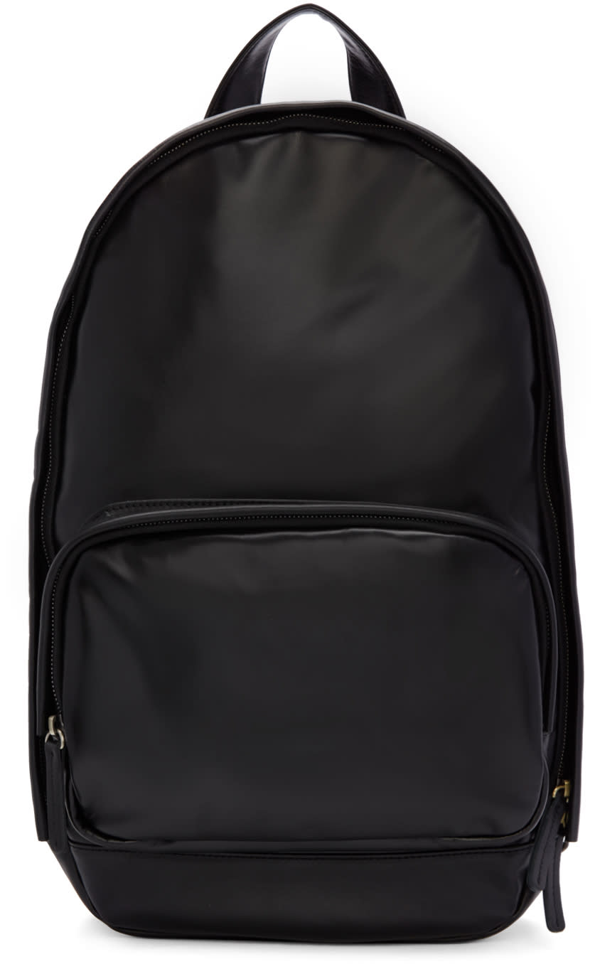 Haerfest Black Leather H1 Backpack