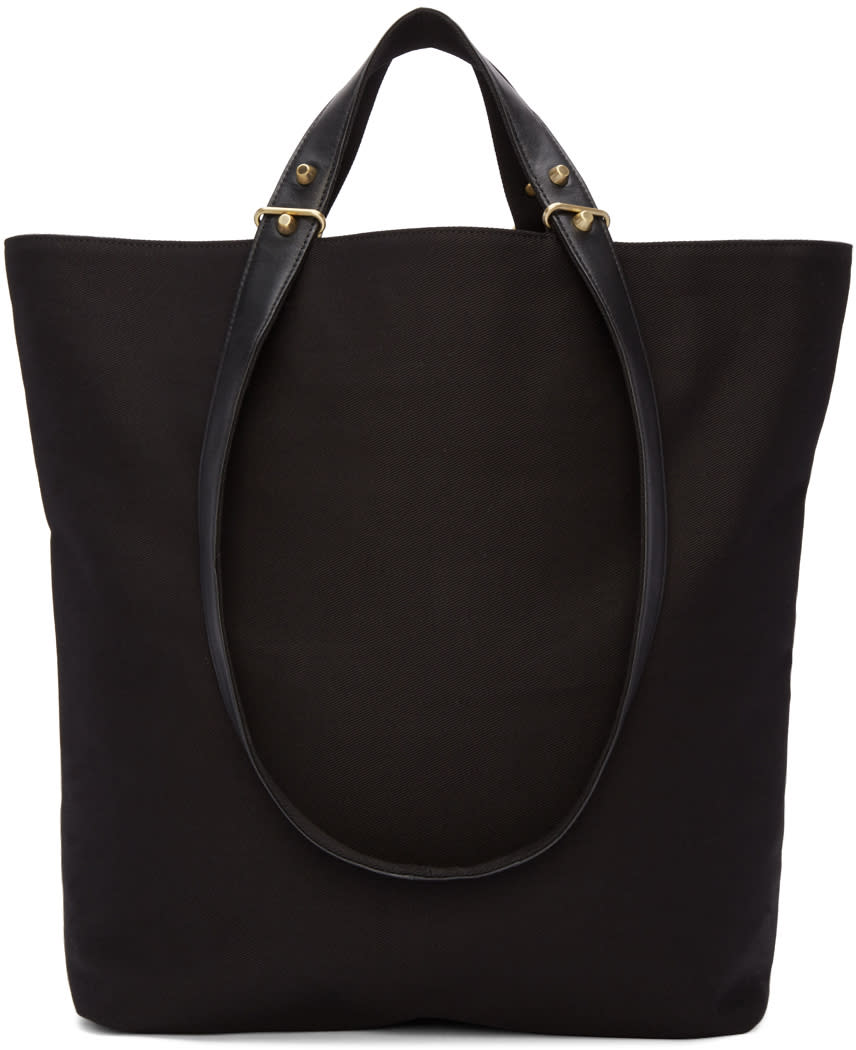 Haerfest Black Canvas H6 Tote Bag