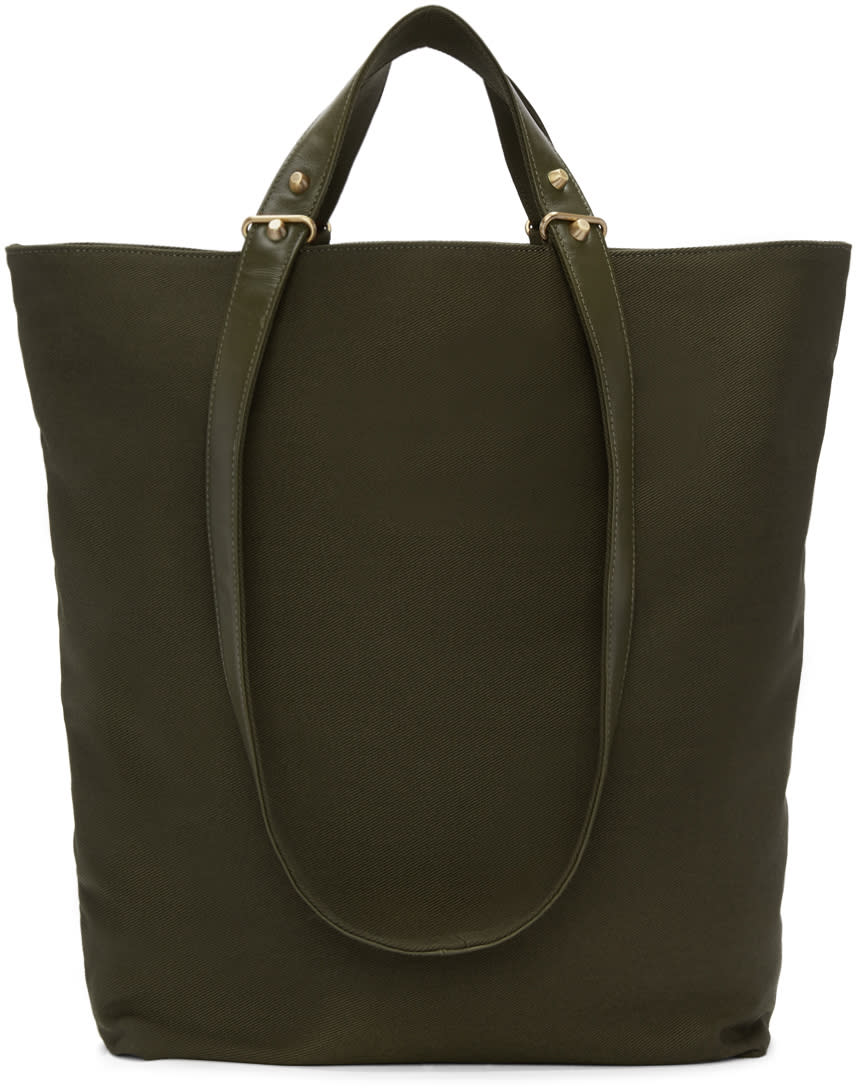 Haerfest Green Canvas H6 Tote Bag