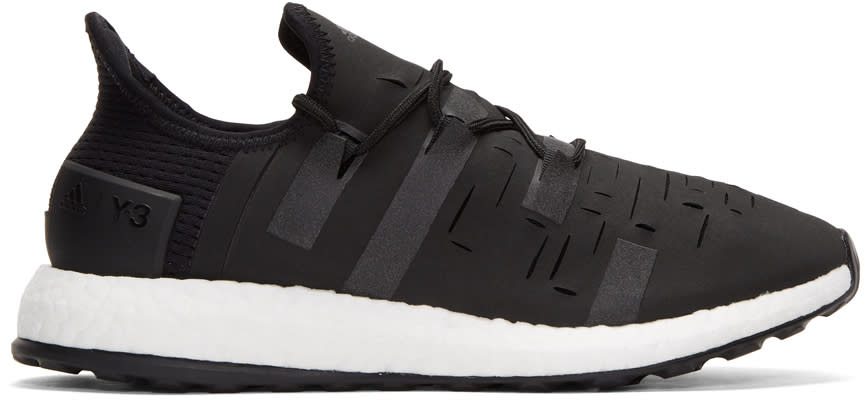 Y-3 Sport Black Approach Sneakers