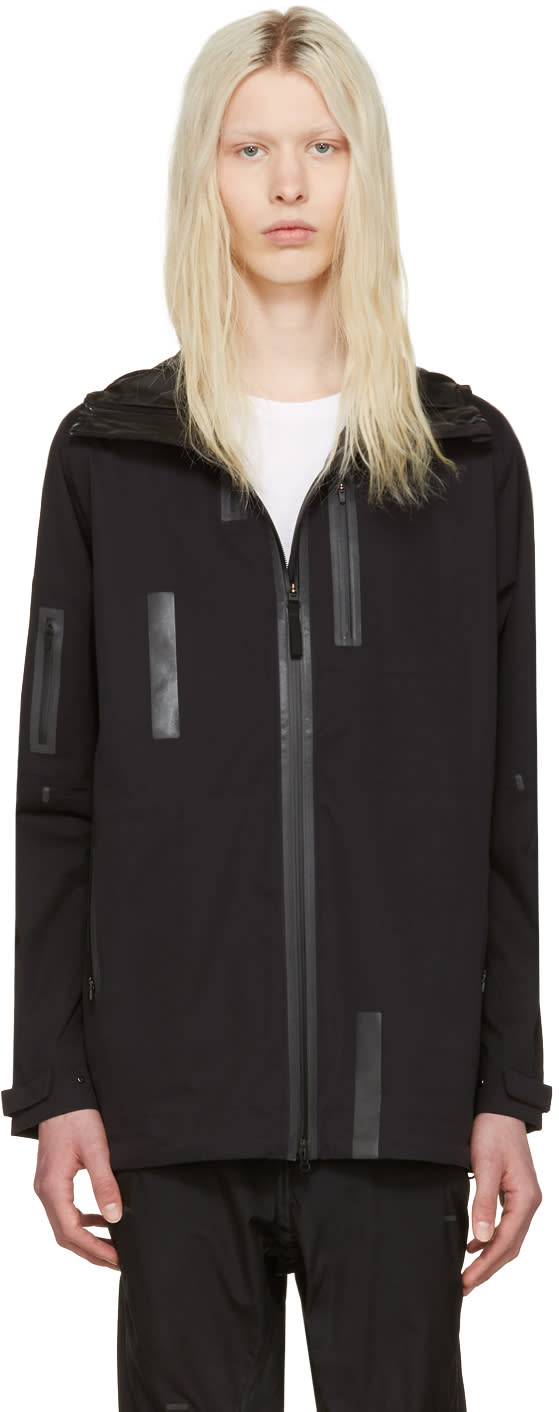 Y-3 Sport Black Rain Zip Jacket