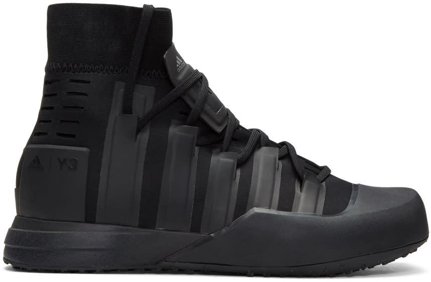 Y-3 Sport Black Control High-top Sneakers