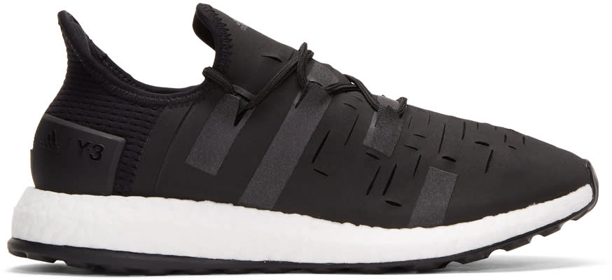 Image of Y-3 Sport Black Approach Low Sneakers