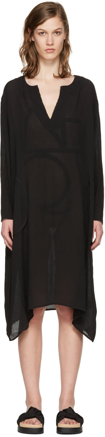 Toteme Black Soma Tunic Dress