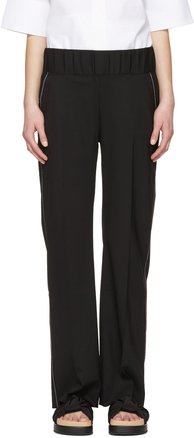 Toteme Black Tella Trousers