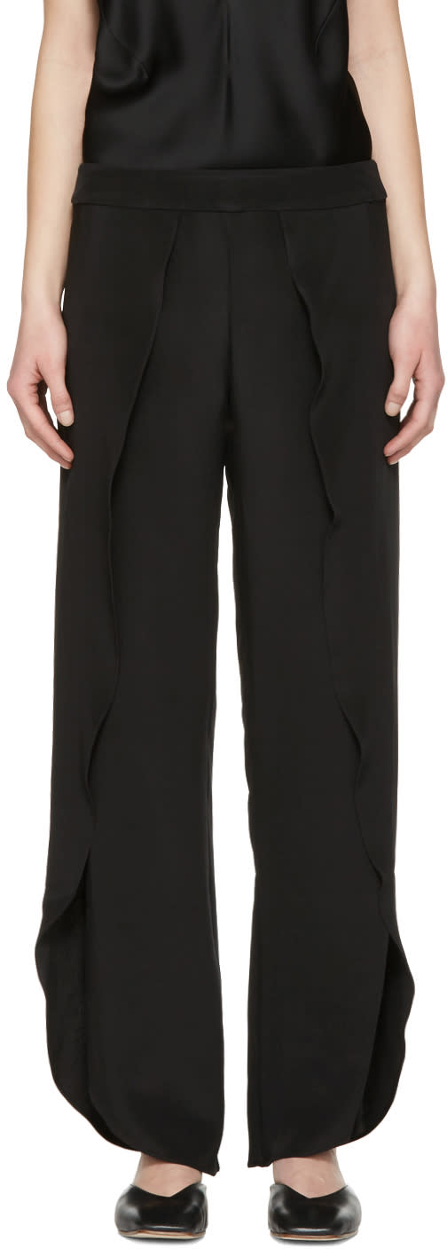 Toteme Black Toulon Trousers